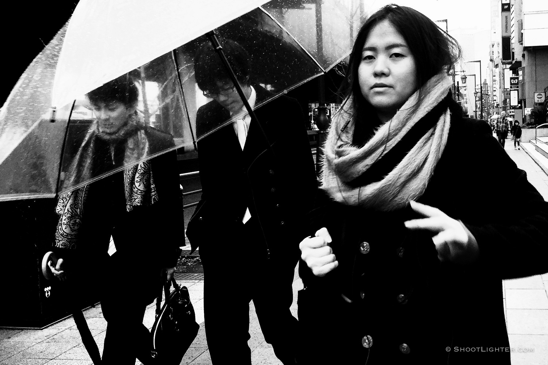 Streets of Tokyo, Japan. iPhone 6 Plus.