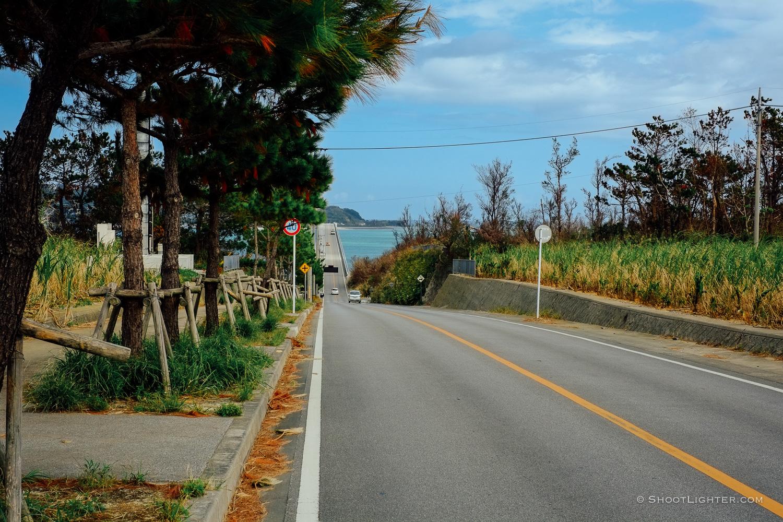 Entrance to Kouri Island,Okinawa, Japan. - Fuji X-Pro1, 35mm f1.4 lens.