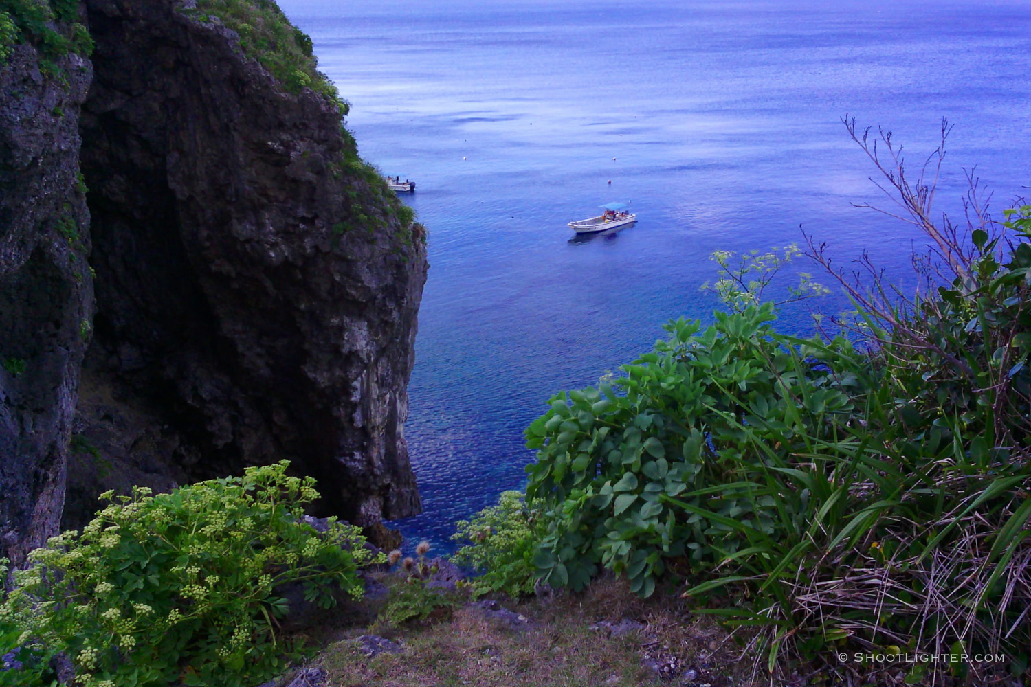 Cape Maeda, a popular diving spot on Okinawa. Captured with my  Narrative Clip .