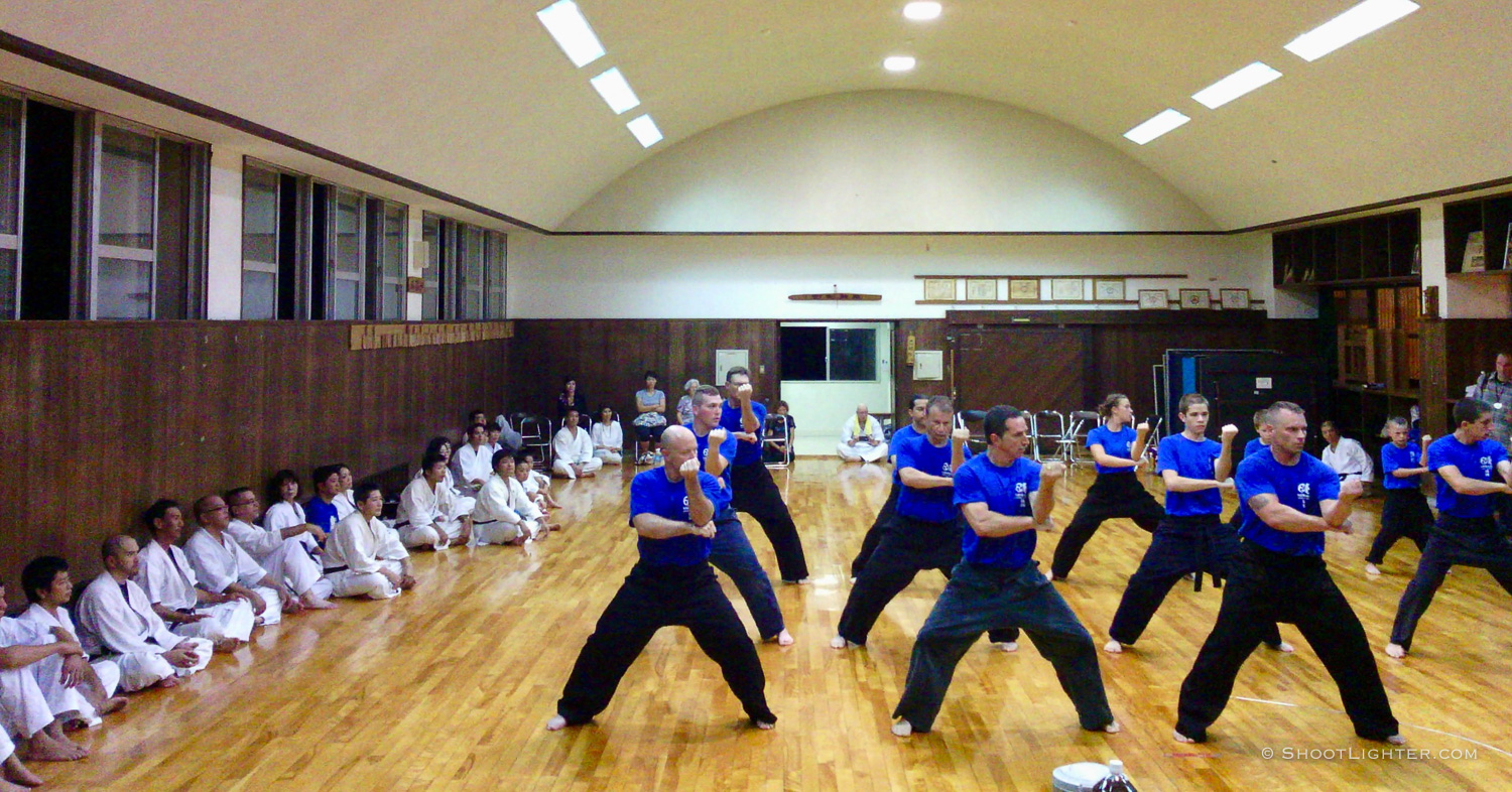 American and Japanese karate event in Ginowan, Okinawa, Japan. Captured with my  Narrative Clip .
