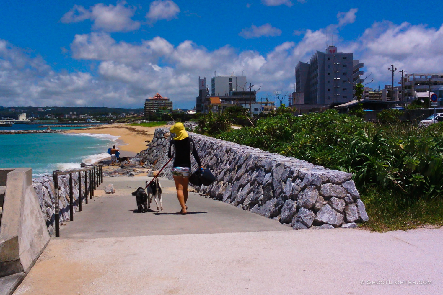 Nago Beach. Captured with my  Narrative Clip wearable camera .