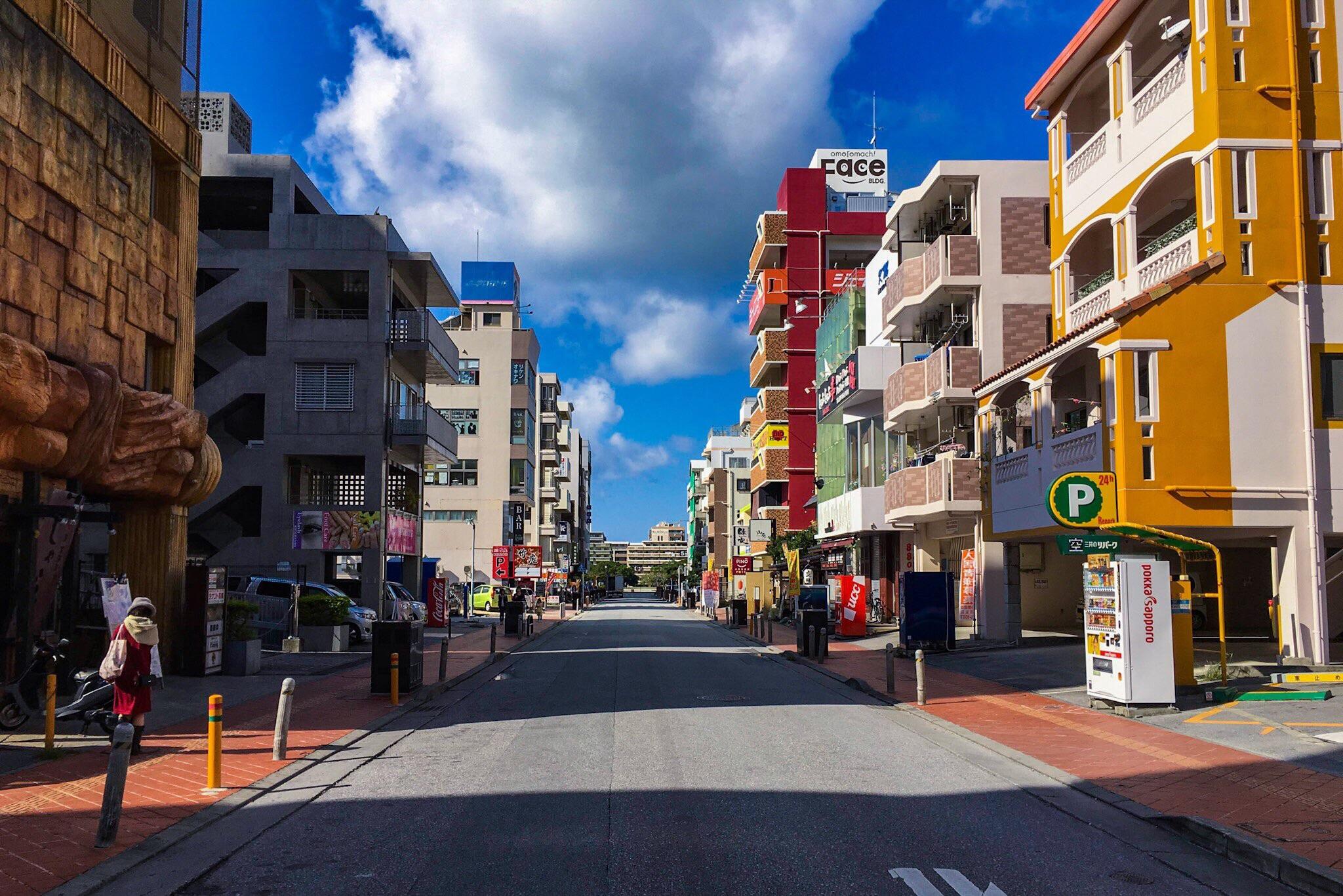 Omoromachi, Naha, Okinawa, Japan. Taken with my iPhone 6s Plus using the camera app  Pure Shot .