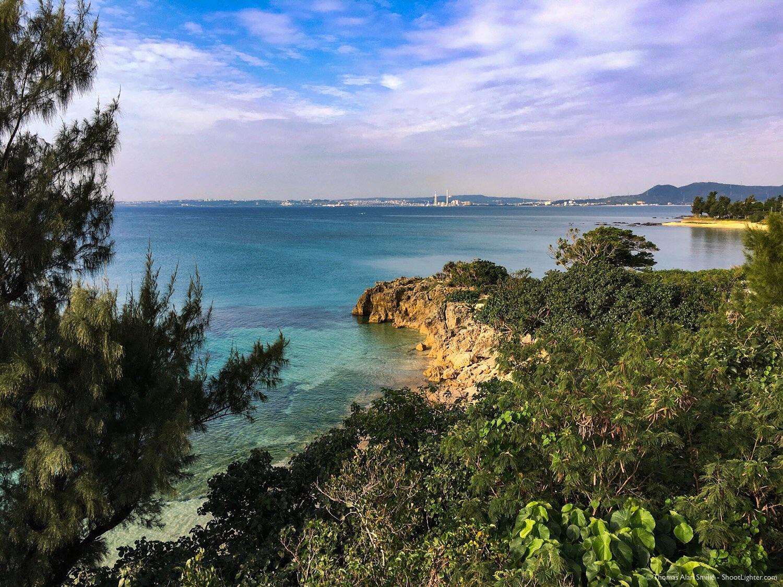 Kin Village coastline in Okinawa, Japan. Taken with an iPhone 6s Plus. Edited in Adobe Lightroom Mobile.