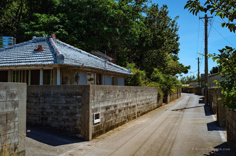 Small village on Hamahiga Island, Okinawa, Japan. Fuji x100, edited in Adobe Lightroom.