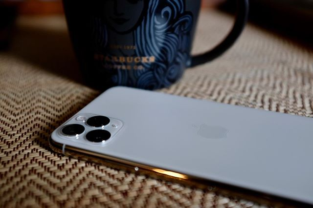Enjoying my new iPhone 11 Pro Max. #iPhone11Pro