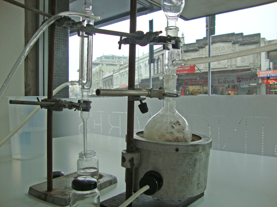 Art & Science Lab: Steam distillation of smell from dirty socks