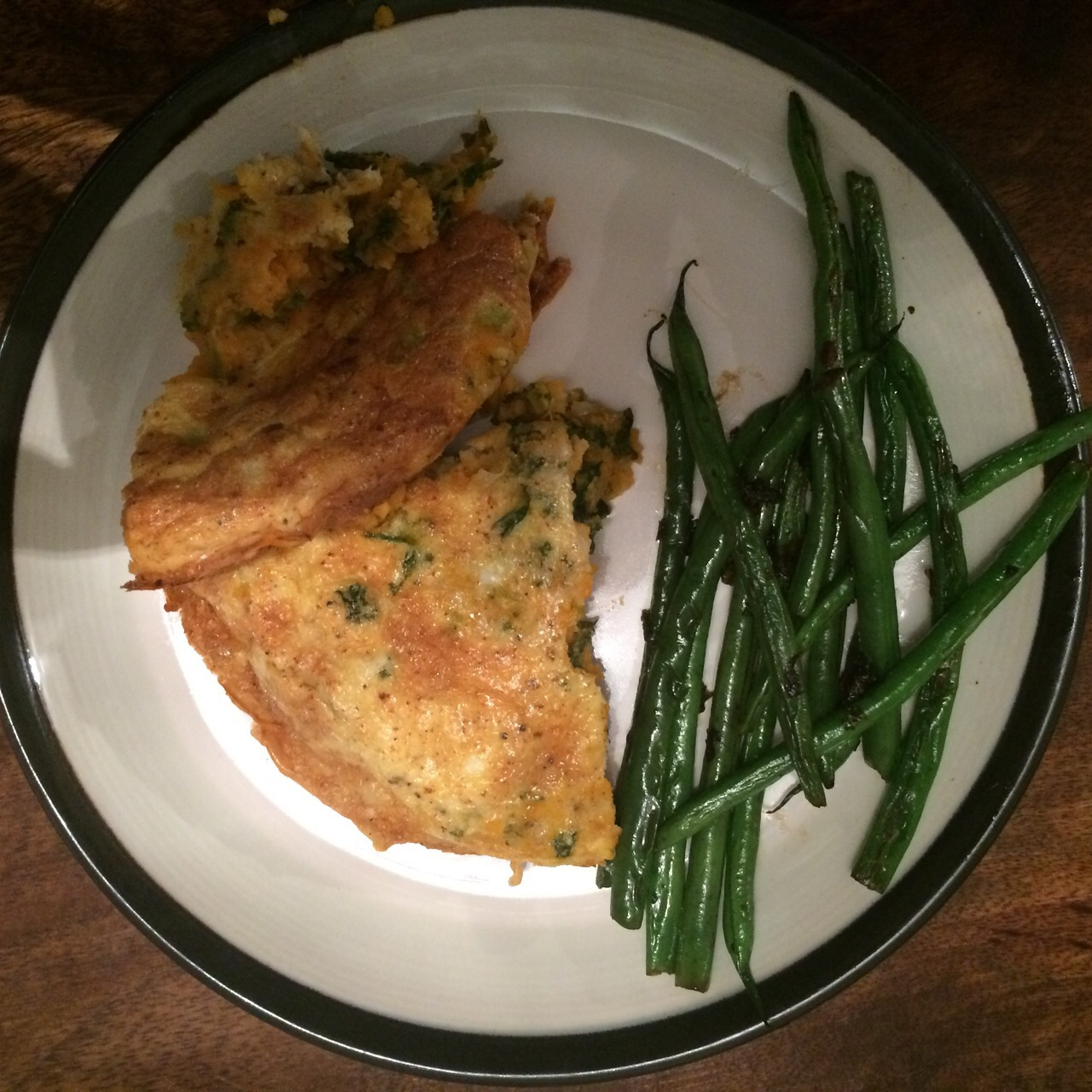 Tastes great with crunchy pan-fried green beans!