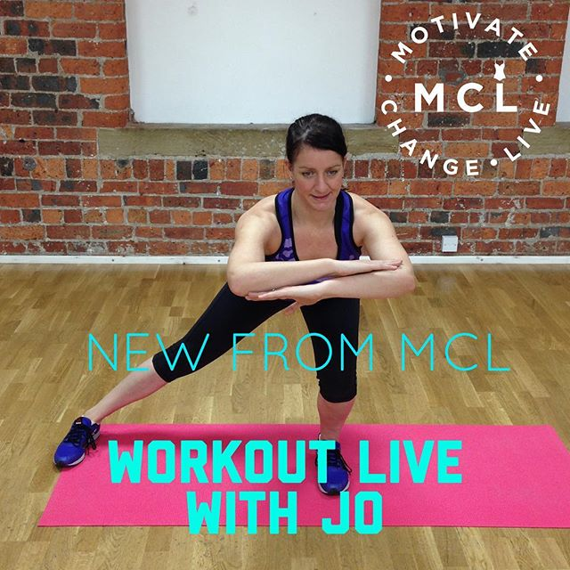 Brand new for Easter 19, this 5 Day Plan with a difference launches on Monday 15th April!  Hosted by Jo Ali LIVE & direct to your living room each morning, plus food guidance & MCL motivation a plenty!  If you can't make the 7am workout slot don't worry, you can access them at your convenience from within the secret group!  Don't miss this chance to workout LIVE with Jo - IFS Presenter of the Year 🏆  Invest £30 in yourself to see & feel REAL RESULTS in time for the Easter weekend!  it's a simple click away... 👇 http://motivatechangelive.com/sign-up/mcl-live-workouts-5-day-plan