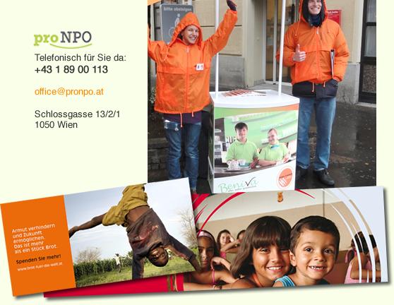 Fundraising von proNPO - die innovative Fundraising Agentur
