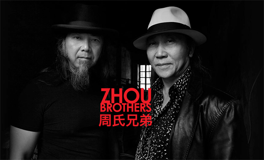 ShanZuo Zhou and DaHuang Zhou (the Zhou Brothers) The Zhou Brothers are one of the most accomplished contemporary artists in the world today renowned for their unique collaborative work process. They always work together on their paintings, performances, sculptures, and prints, often communicating without words in a so-called dream dialogue. Their thinking, aesthetic, and creativity are a symbiosis of Eastern and Western philosophy, art, and literature that informed their development since early childhood. Their indomitable spirit allowed them to leave behind their brilliant success in China, where they were hailed as national heroes for their early work, to step onto the world stage. They have since achieved international acclaim while continuing to work in the West.    The Zhou Brothers, Shan Zuo and DaHuang Zhou, were born in China 1952 and 1957 respectively. They studied drama and painting at the University of Shanghai from 1978 to 1982 and the National Academy for Arts and Crafts in Beijing from 1983 to 1984 where they received their MFAs. During the beginning of the 1980s they became leaders of the contemporary art movement in China. In 1985 they won the National Prize of the Chinese Avant-Garde of the Ministry of Culture and the Prize for Creativity from the Peace Corps of the United Nations. They were also honored as the first contemporary artists ever to show their work in an exhibition that traveled to the five largest museums in China, including the National Art Museum of China in Beijing and the art museums in Shanghai and Nanjing.