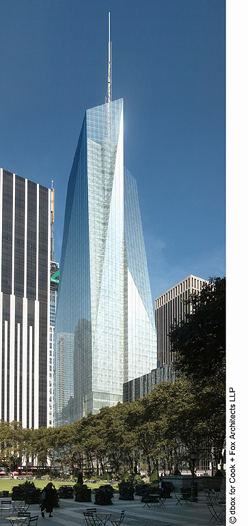 Bank of America Tower New York City - 115 W 42nd St, New York, NY 10036