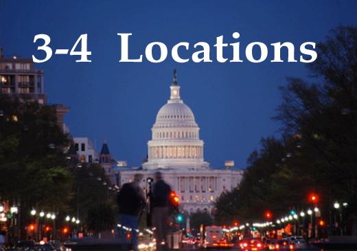 Registration - 3 ro 4 Locations - No Hotel Accommodations- $1,500