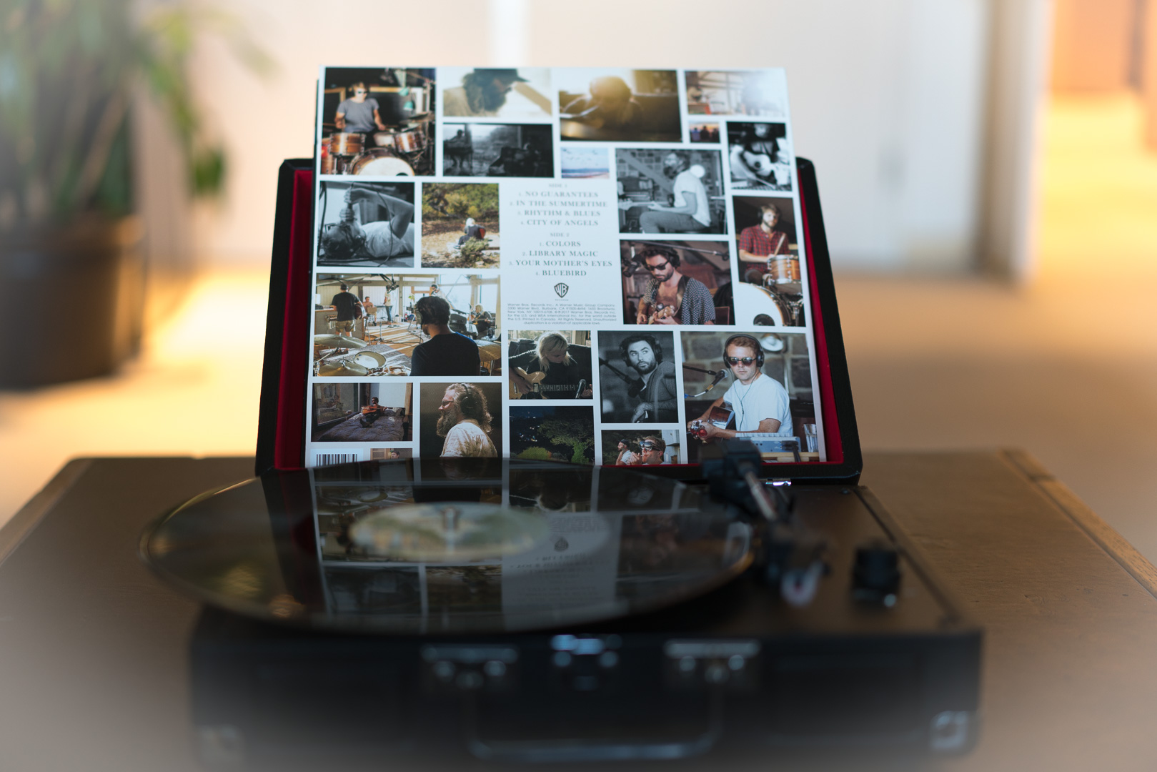 Featuring dozens of images captured during the writing of their  Signs of Light  album in Stinson Beach, CA., this Record Store Day limited edition album is now available for streaming by  clicking here .