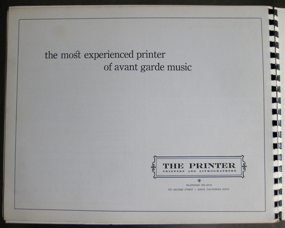 Source Magazine: Music of the Avant Garde, Pt 2