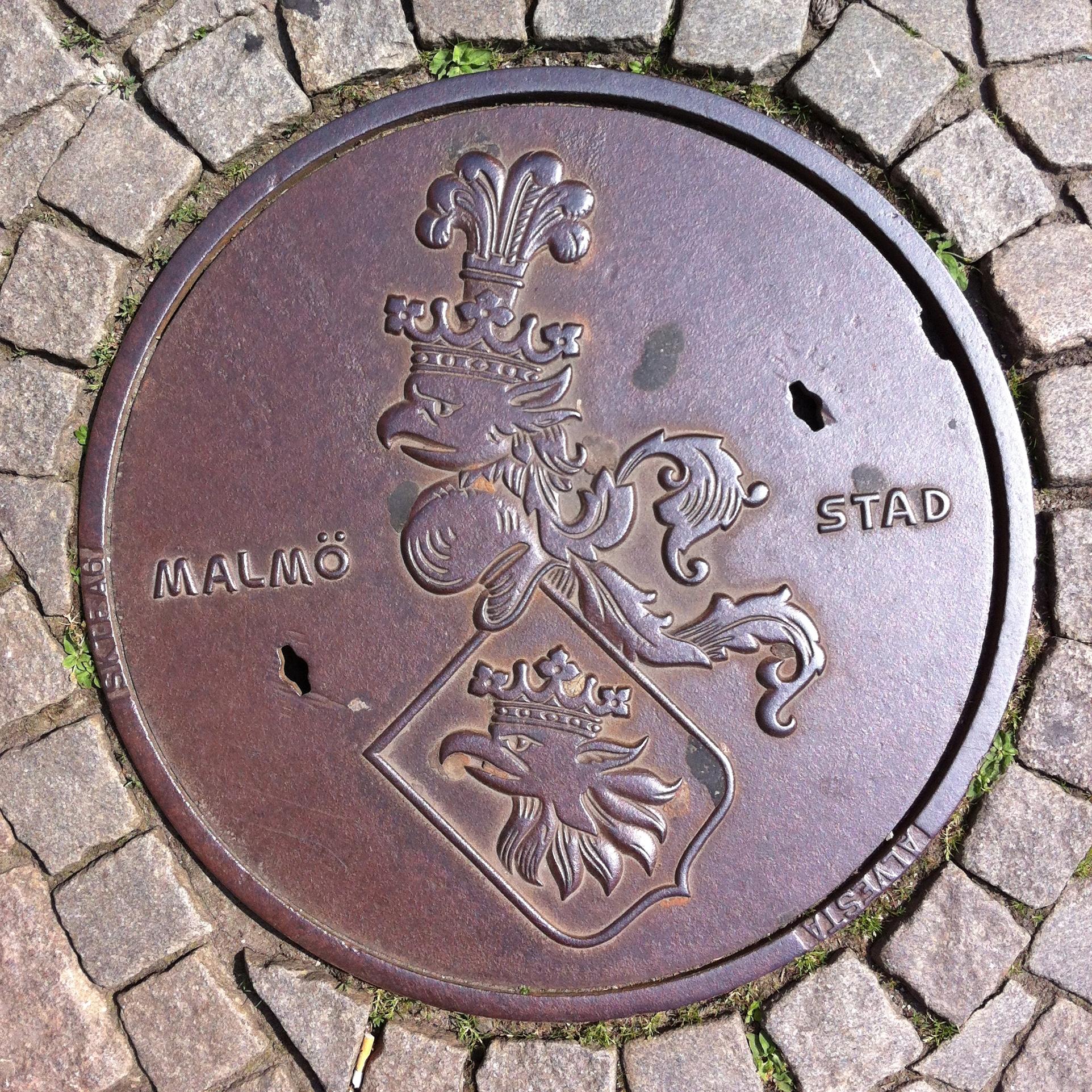 Malmo manhole