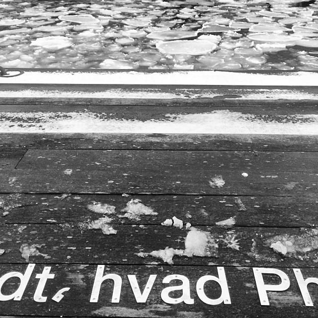 #what a cold looking place #copenhagen #Kierkegaard