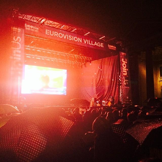#eurovision at #nytorv #copenhagen #joinus