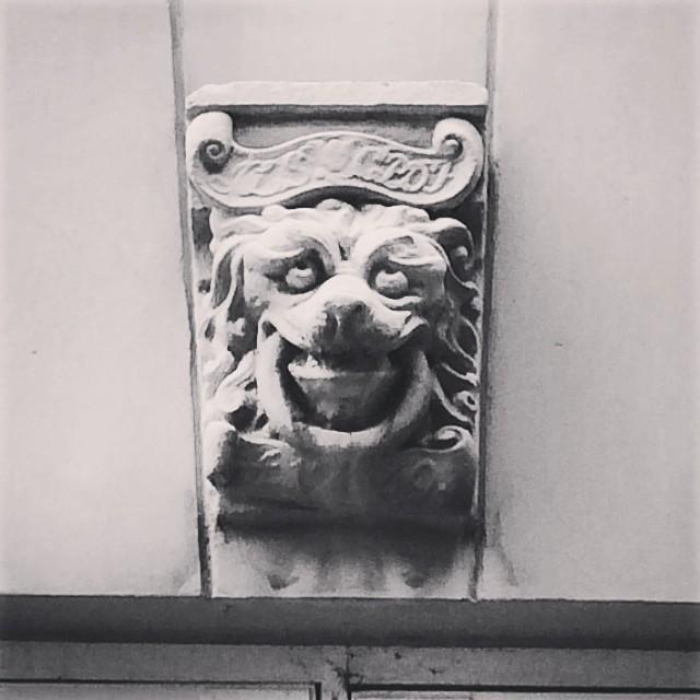 #lion #grotesque #architecture #sculpture #copenhagen - @blissful_lions