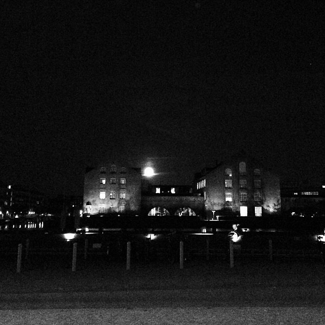 #fullmoon and the first long weekend of the #danish summer - #copenhagen #vscocam
