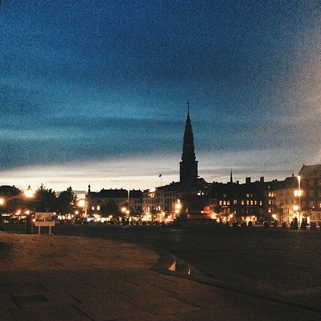 The view from #parliament #christiansborg #copenhagen #vscocam