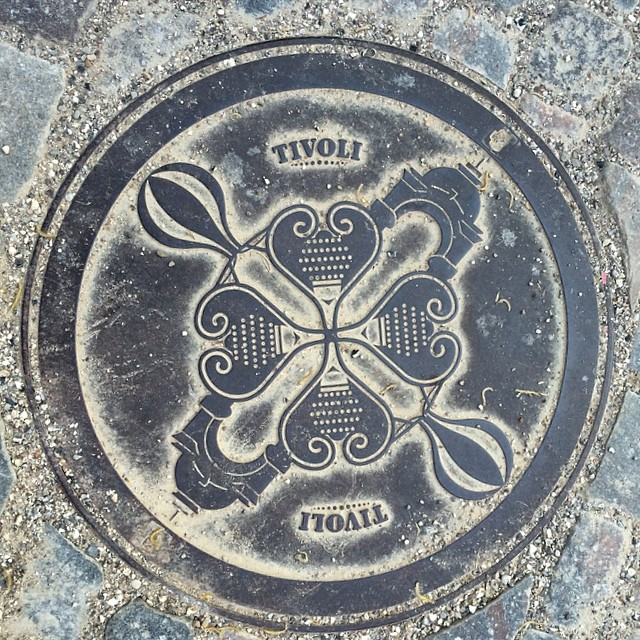 #manholecover from #tivoli #copenhagen