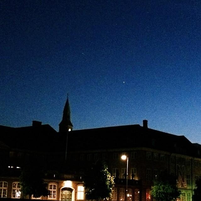 #rådhuset and #Jupiter from #christiansborg #copenhagen #vscocam