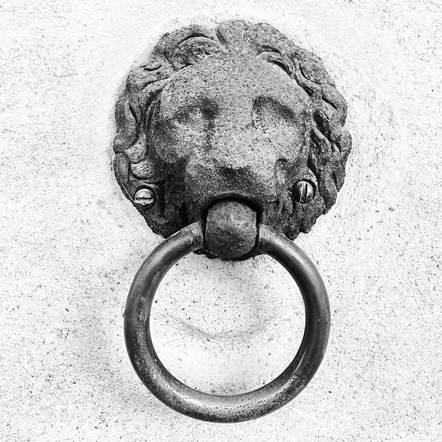 #lion #knocker that can't knock - #christiansborg #royalstables #copenhagen @blissful_lions