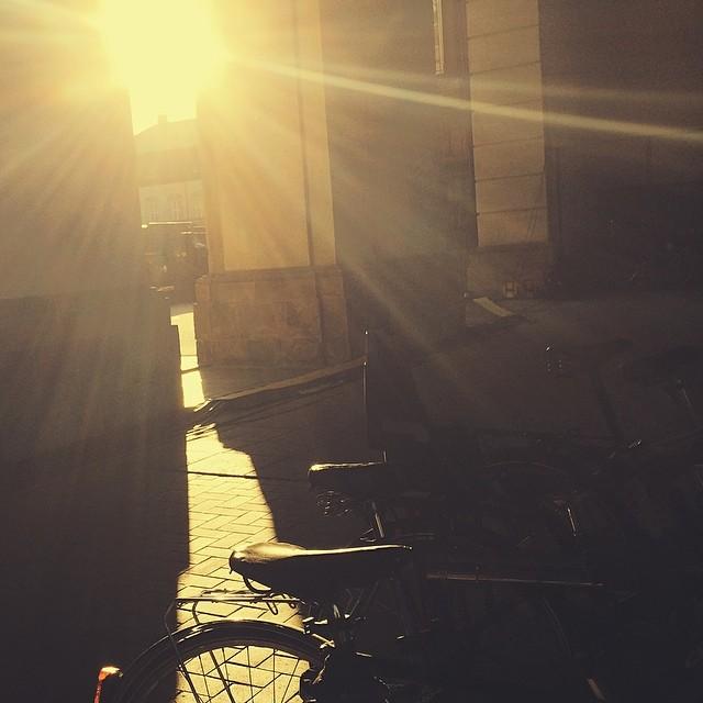 Late #evening #sunlight #christiansborg #copenhagen #vscocam