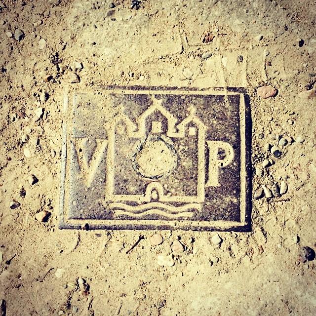 Small #manholecover or drain cover in #ørstedspark #copenhagen