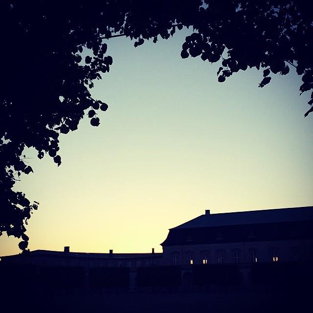 #sunset over the #royalstables #copenhagen #christiansborg