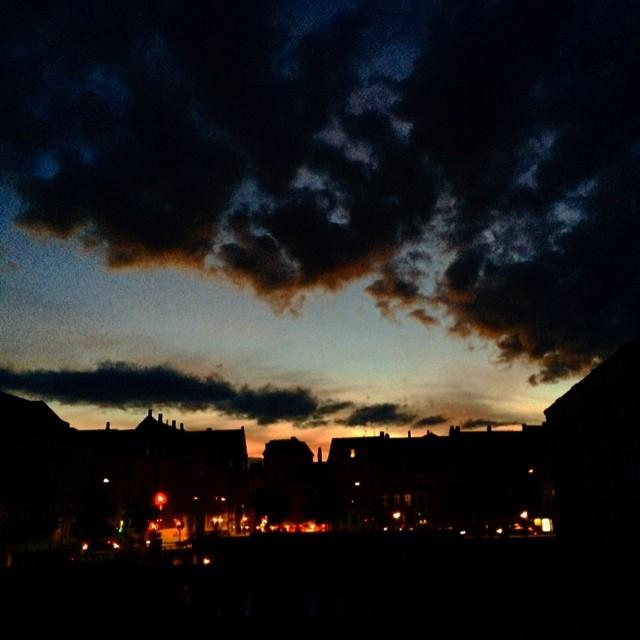 It's still coming #copenhagen #stormbroen #clouds