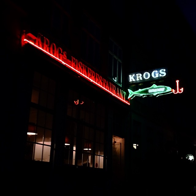 a #copenhagen classic - #sign #signage #typography #neon