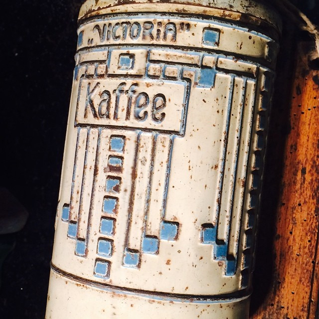 #coffee #grinder with some nice #typography