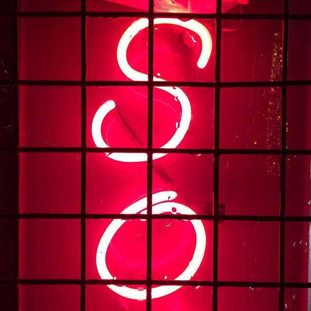 So ? #typography #sign #neon #red