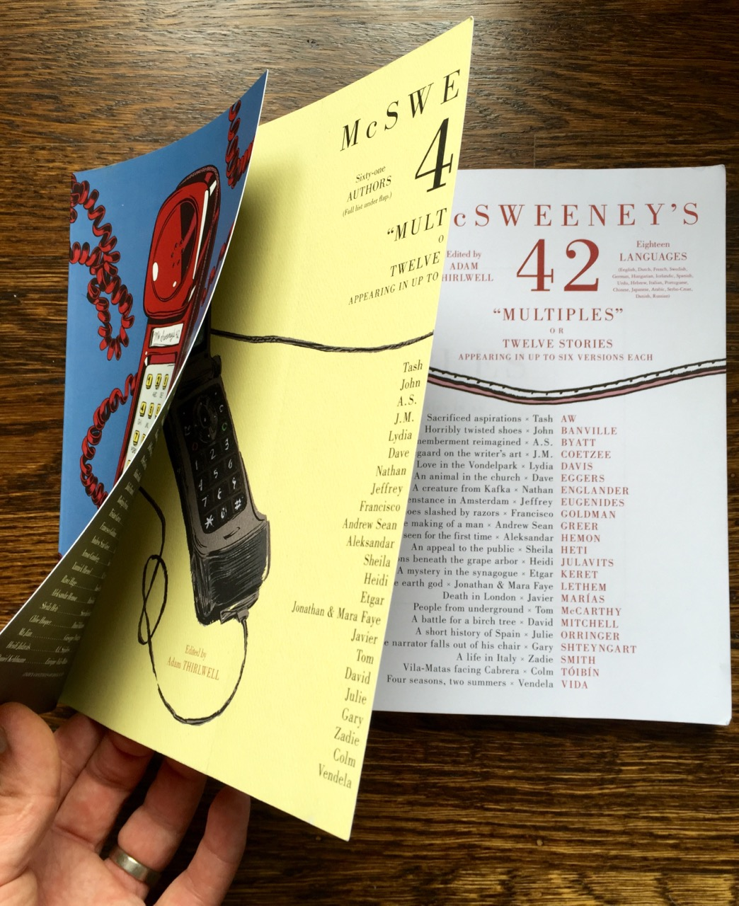 McSweeney's 42 - multiple cover