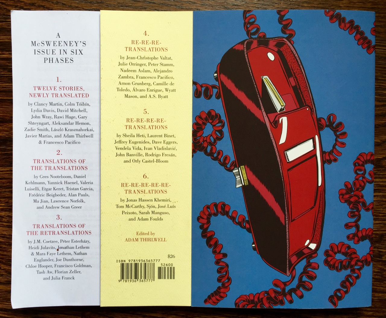 McSweeney's 42 - contents for the multiple stories