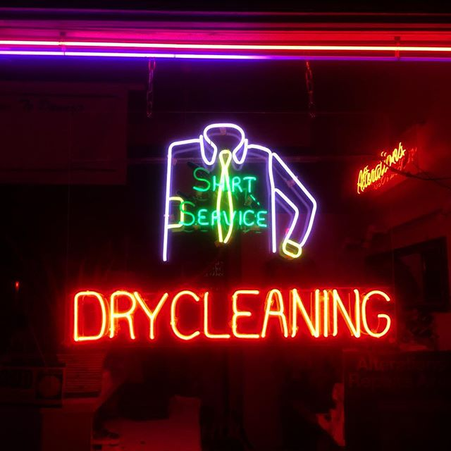 i love #neon #signs - #lettering #typography #colours