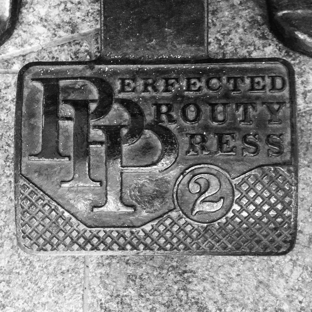 old school #printing #typography #blackandwhite