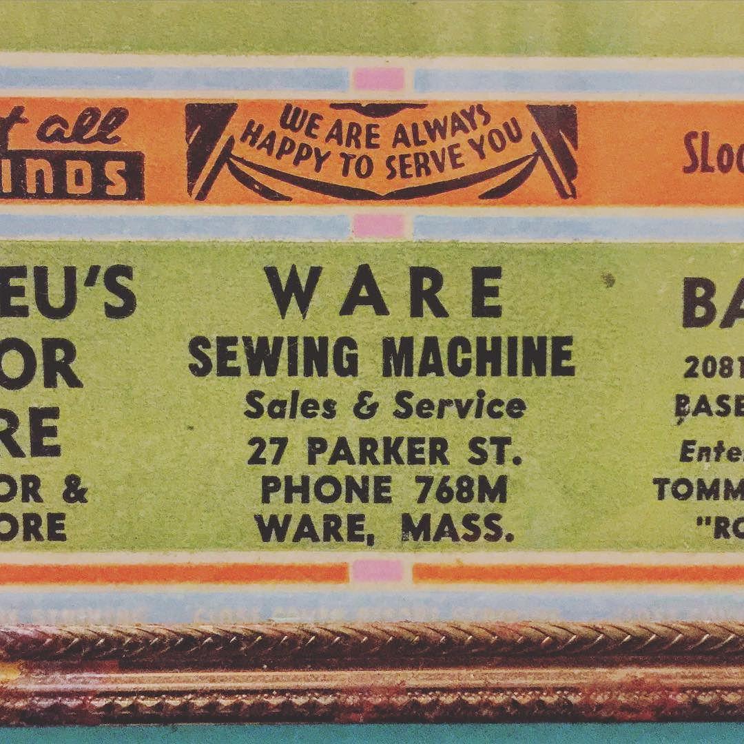 #typography #advertising #retro #ware