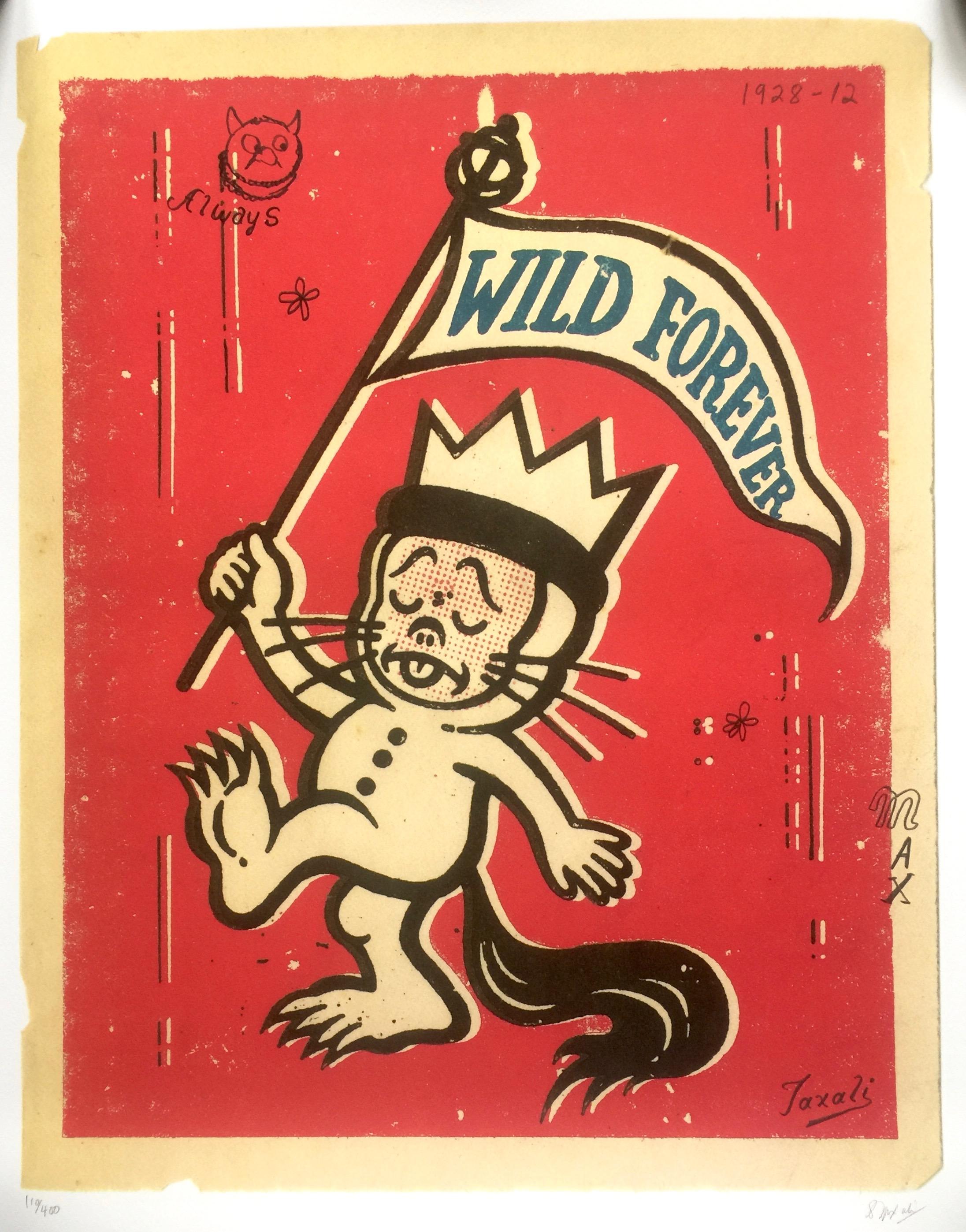 Wild Forever - Gary Taxali