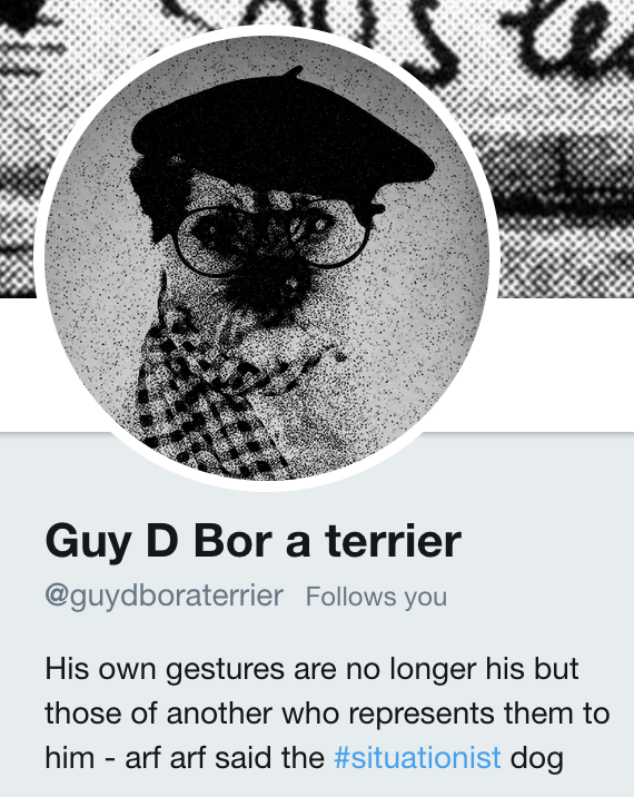 @guydboraterrier - https://twitter.com/guydboraterrier