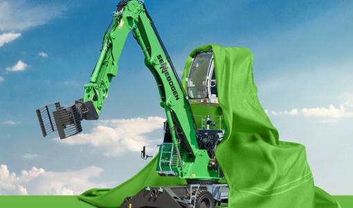SMT Belgium distributeur de la ligne verte (Green Line) de Sennebogen profitera de ce salon qui aura lieu du 6 au 10 septembre pour dévoiler une nouvelle pelle de manutention industrielle compacte spécialement conçue pour le traitement et le recyclage des déchets. En plus, SMT Belgium présentera deux autres machines dont une pelle hybride qui   bénéficie d'un système innovant de recyclage d'énergie grâce à un vérin monté entre les deux vérins de levage qui stocke l'énergie générée par l'abaissement de la flèche dans les vérins à gaz comprimé situés à l'arrière de la machine. Lors du levage suivant, cette énergie accumulée est à nouveau disponible. Ce système permet d'économiser jusqu'à 30% d'énergie.         En outre elle est en lice dans la catégorie des finalistes des Green Awards. Le lauréat sera connu lors de la soirée inaugurale de Matexpo 2017.   © Bull BTP