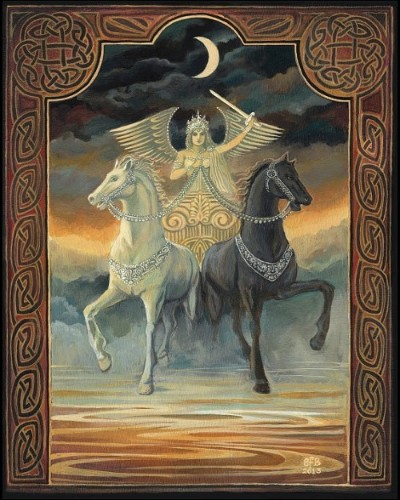 The Chariot By  Emily Balivet