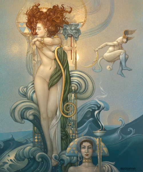 ART BY MICHAEL PARKES, VENUS