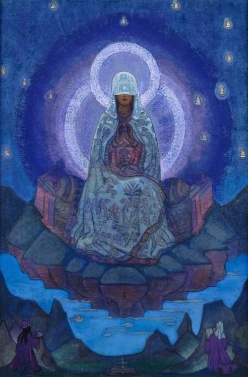 Art by Nicholas Roerich