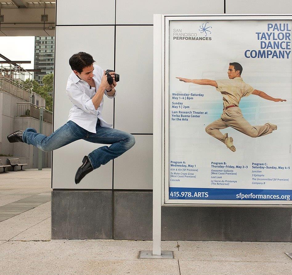Photograph by Jordan Matter. Visit   www.dancersamongus.com   to get your copy of his explosive best seller,  Dancers Among Us .