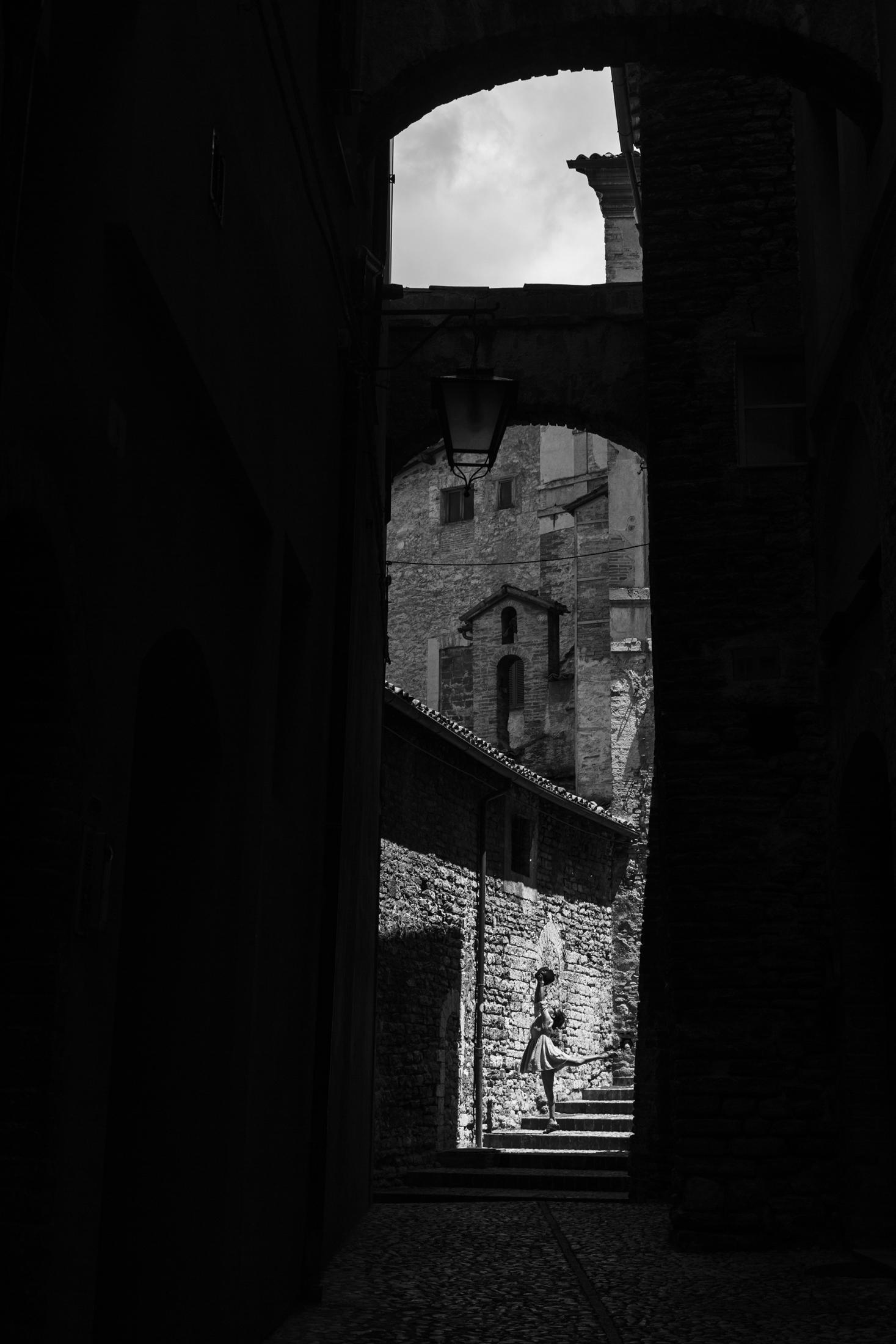 Dancing in Spoleto