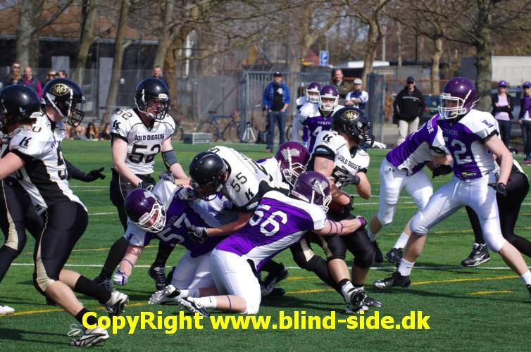 Copenhagen Towers U19 vs. Søllerød Gold Diggers U19 © blind-side.dk