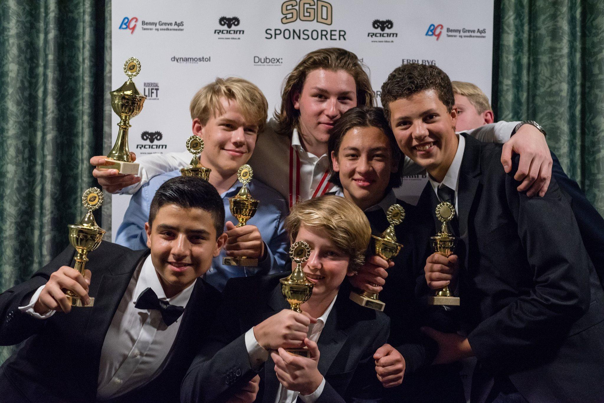 Alle U16 awardvinderne - Sbtn Photography