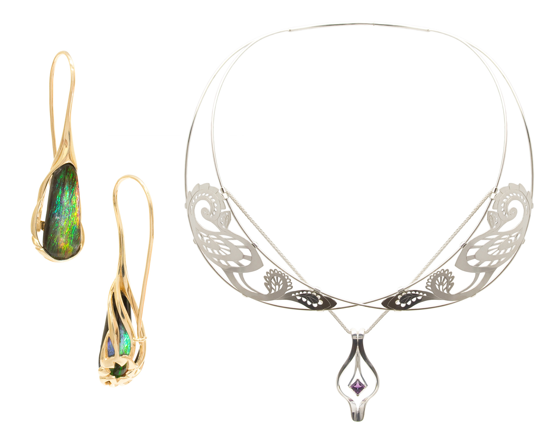 Neckpieces & Earrings